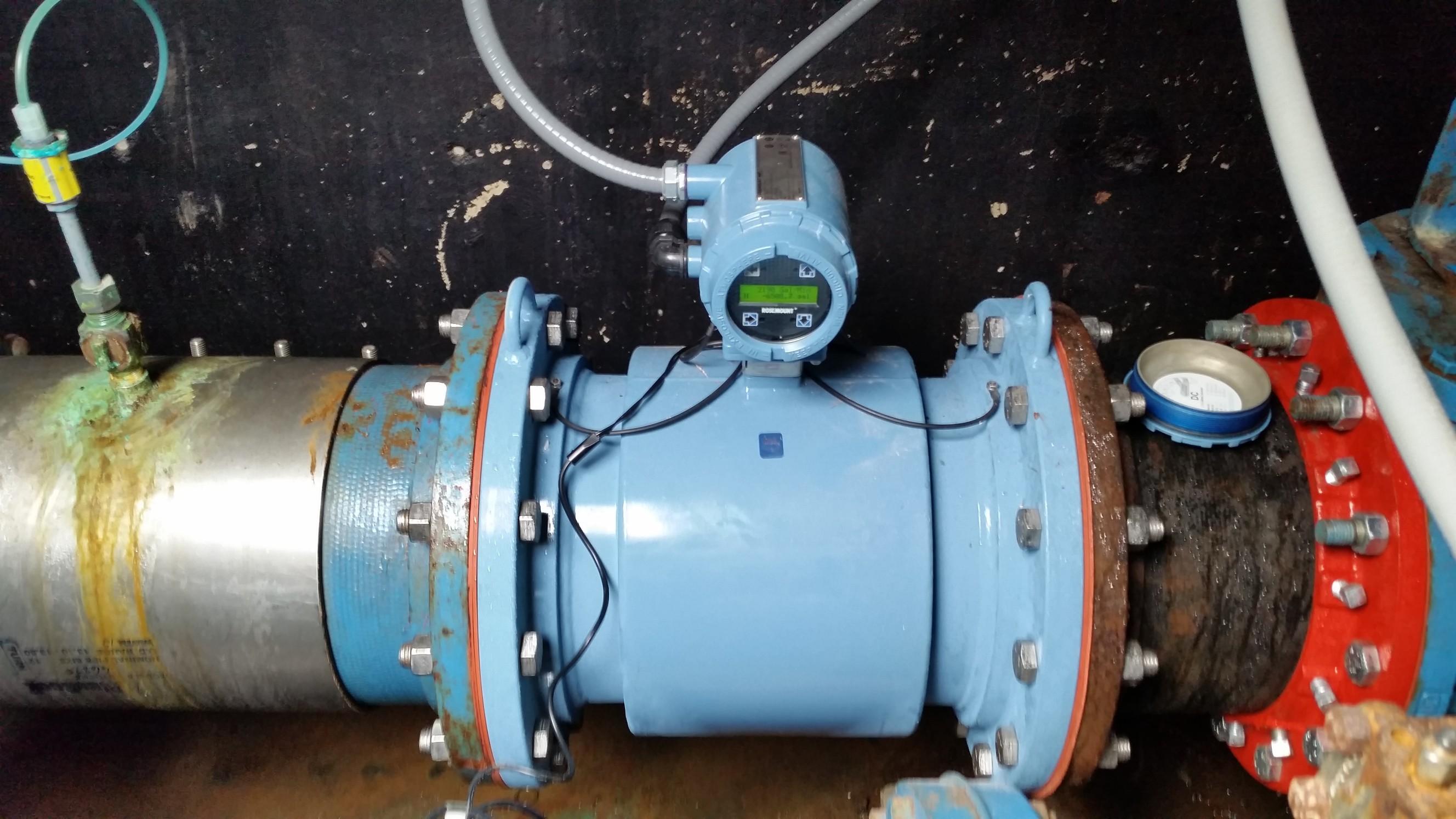 1-New-Rosemount-8750-Magnetic-Flow-Meter